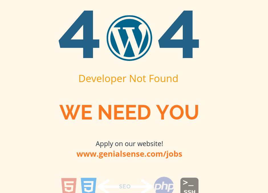 Desarrollador web WordPress
